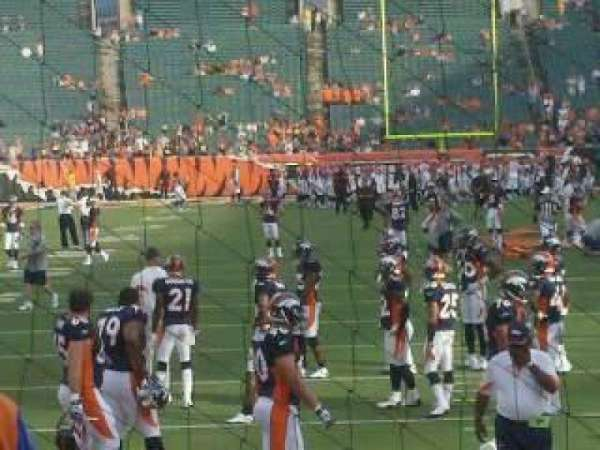 Paul Brown Stadium, section: 128