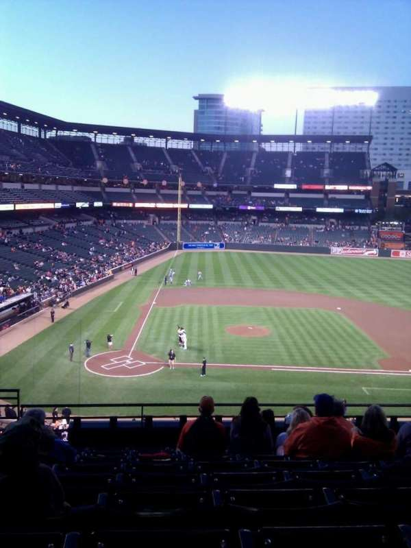 Oriole Park at Camden Yards, section: 220, row: 8, seat: 13