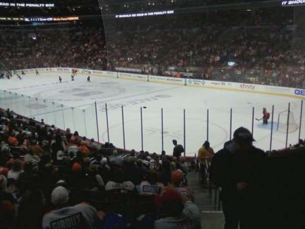 Wells Fargo Center, section: 116, row: 17, seat: 18