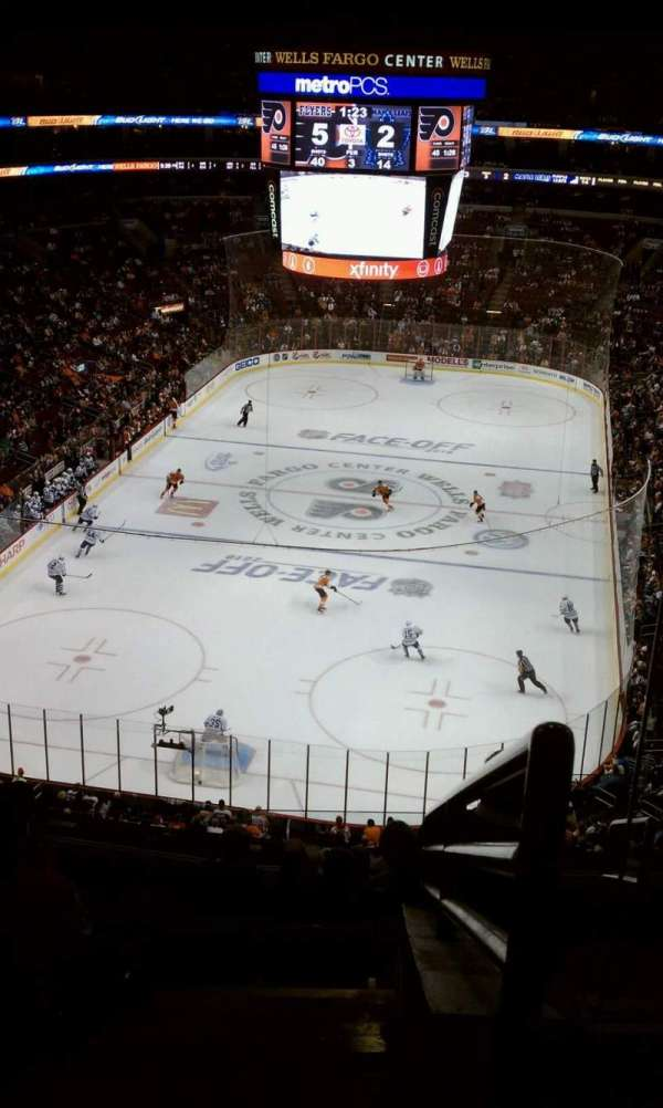 Wells Fargo Center, section: 207a, row: 8, seat: 19