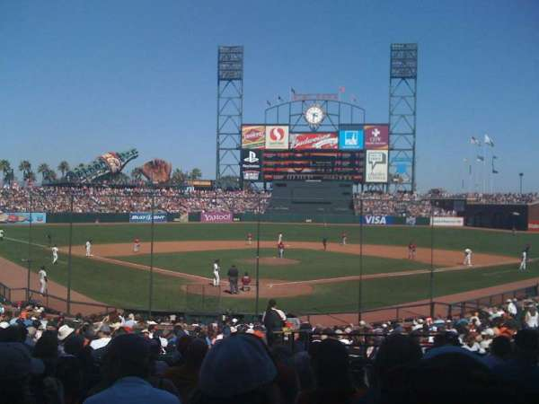 AT&T Park, section: 115, row: 29, seat: 1