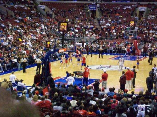 Wells Fargo Center, section: 120, row: 12