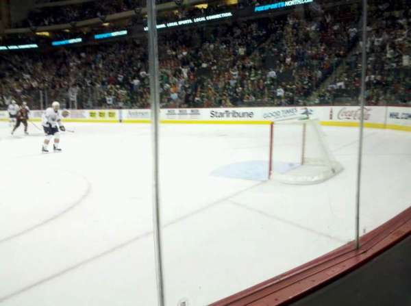 Xcel Energy Center, section: 112, row: 2, seat: 1