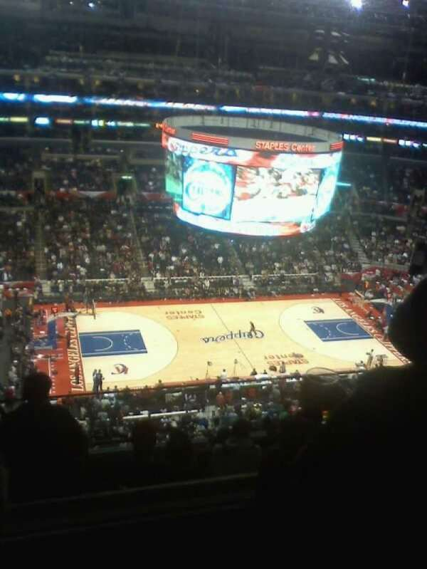 Staples Center, section: 302, row: 9
