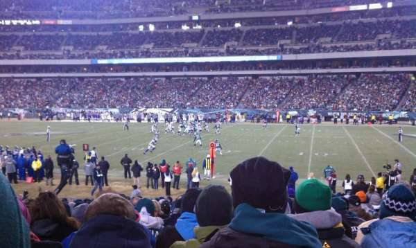 Lincoln Financial Field, section: 104, row: 19, seat: 9