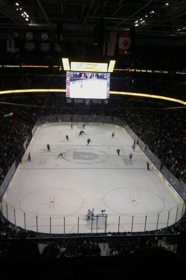 Amalie Arena, section: 324, row: C, seat: 4