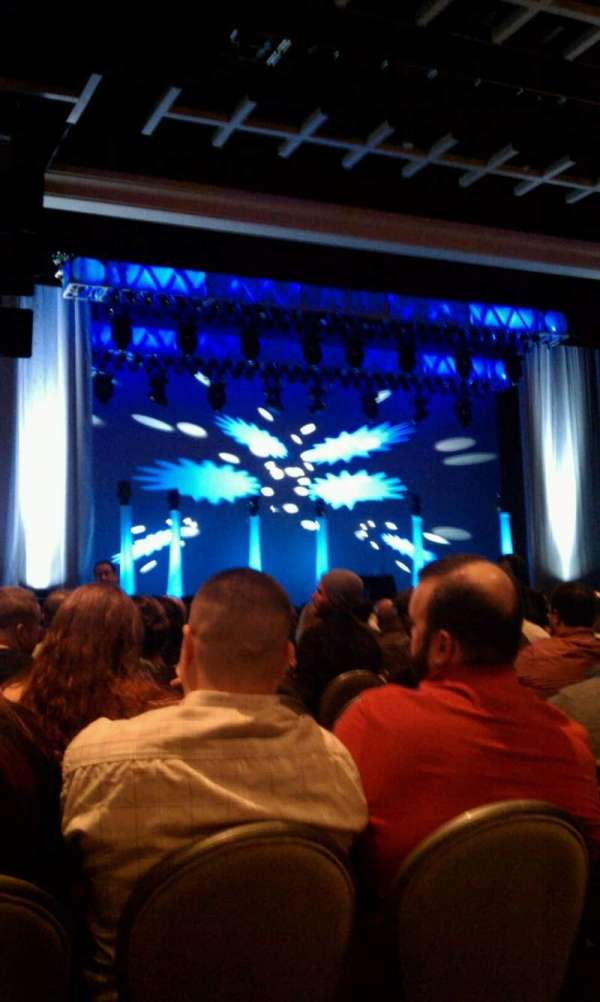 Borgata Event Center, section: 200, row: 18, seat: 2
