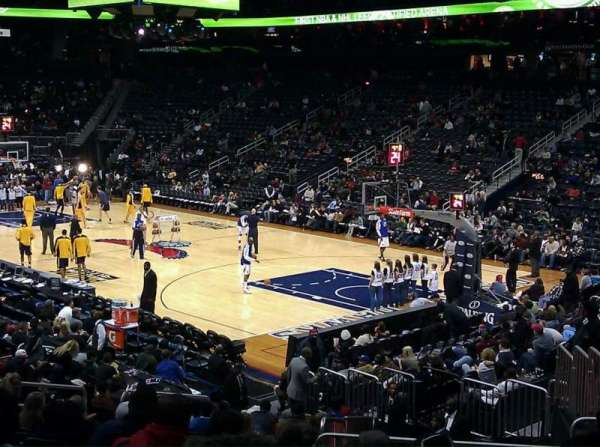 State Farm Arena, section: 122