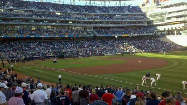 Target Field, section: 104, row: 9, seat: 11