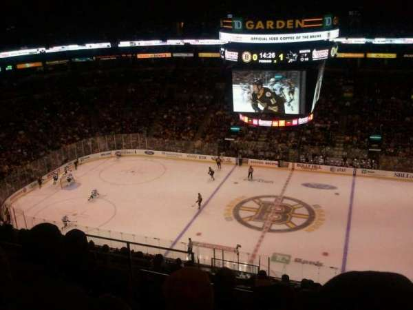TD Garden, section: Bal 315, row: 12, seat: 12