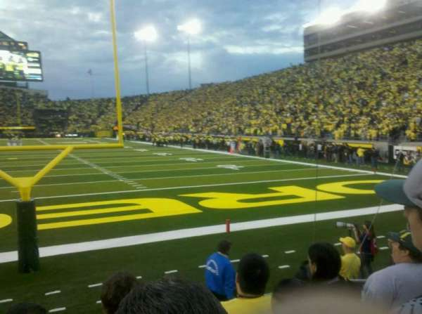 Autzen Stadium, section: 1