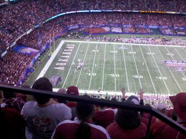 Mercedes-Benz Superdome, section: 618, row: 27, seat: 7