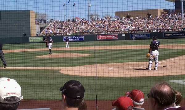 Salt River Fields, section: 115, row: 8, seat: 10