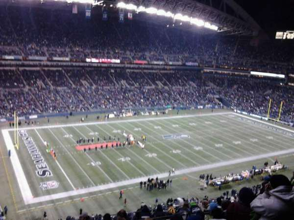 CenturyLink Field, section: 341, row: 3, seat: 2