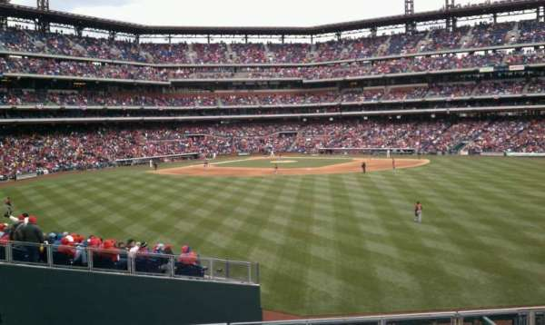 Citizens Bank Park, section: SRO