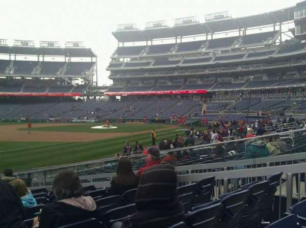 Nationals Park, section: 112, row: S, seat: 20