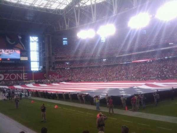 State Farm Stadium, section: 124, row: 6, seat: 1
