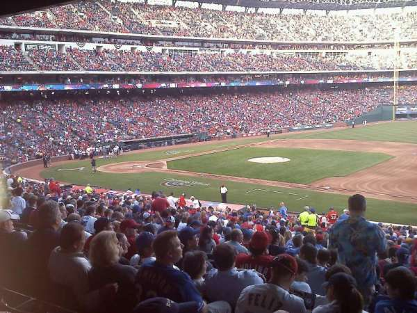 Globe Life Park in Arlington, section: 136, row: 34, seat: 4