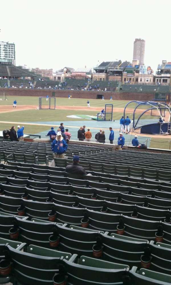 Wrigley Field, section: 114, row: 11, seat: 14