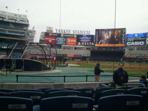 Yankee Stadium, section: 018, row: 5, seat: 6