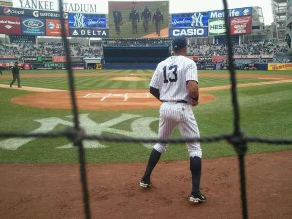 Yankee Stadium, section: 020, row: 1, seat: 5