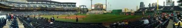 PNC Park, section: 7, row: l, seat: 3