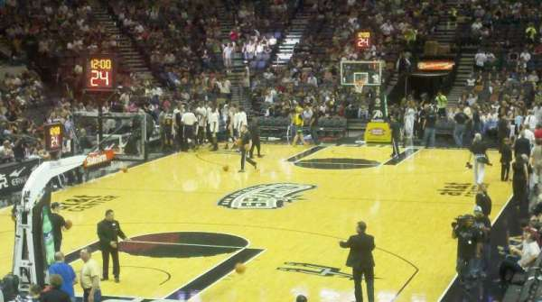 AT&T Center, section: 127, row: 23, seat: 5