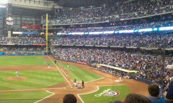 Miller Park, section: 222, row: 5, seat: 18