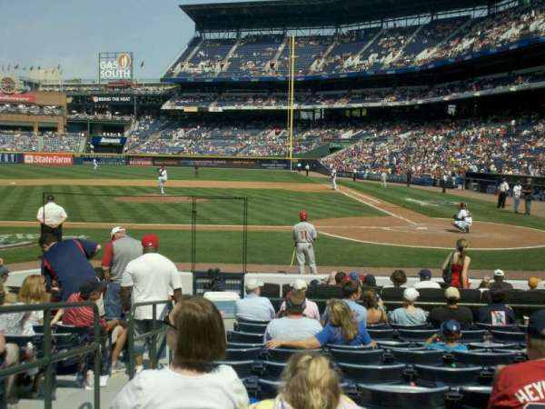Turner Field, section: 108, row: 11, seat: 2