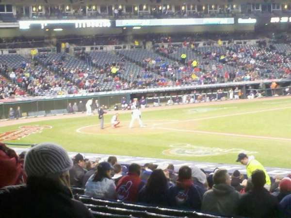 Progressive Field, section: 146, row: bb, seat: 10