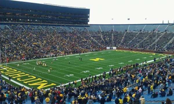 Michigan Stadium, section: 29