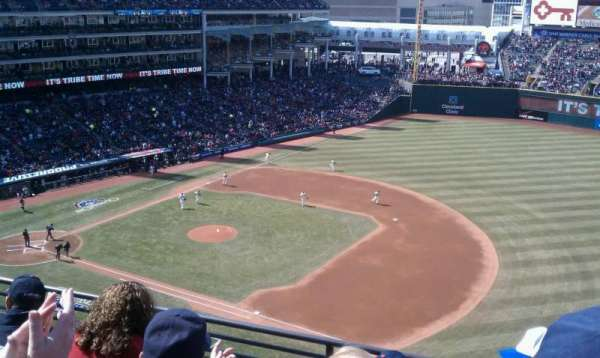 Progressive Field, section: 428 , row: D, seat: 1