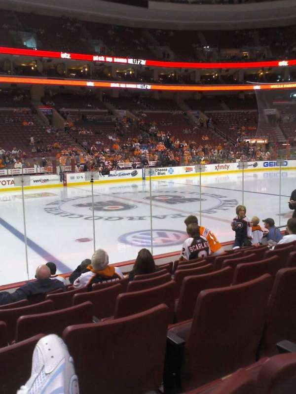 Wells Fargo Center, section: 112, row: 8, seat: 8