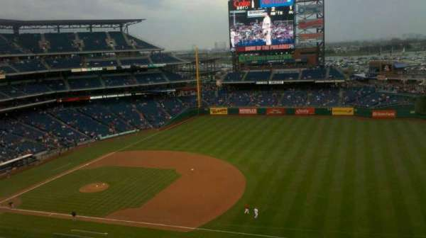 Citizens Bank Park, section: 302, row: 8, seat: 4