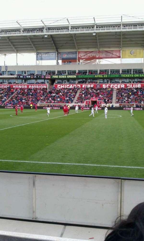 SeatGeek Stadium, section: 106, row: 3, seat: 20