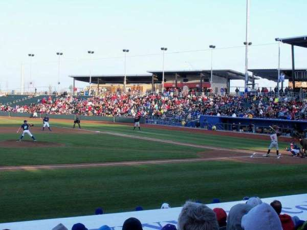Werner Park, section: 118, row: 14, seat: 9