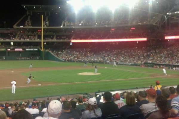 Nationals Park, section: 115