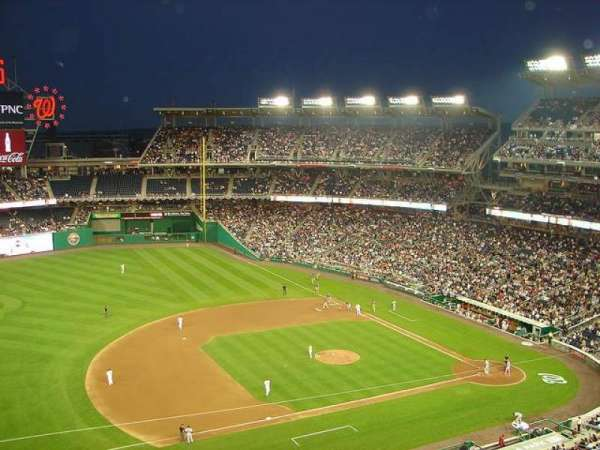 Nationals Park, section: 306, row: G