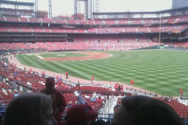 Busch Stadium, section: 132, row: 8, seat: 16