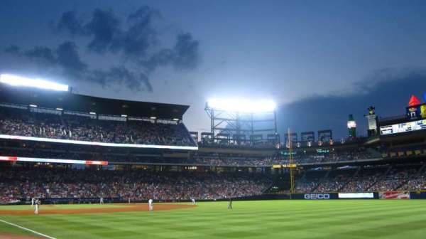 Turner Field, section: 125L, row: 7, seat: 103