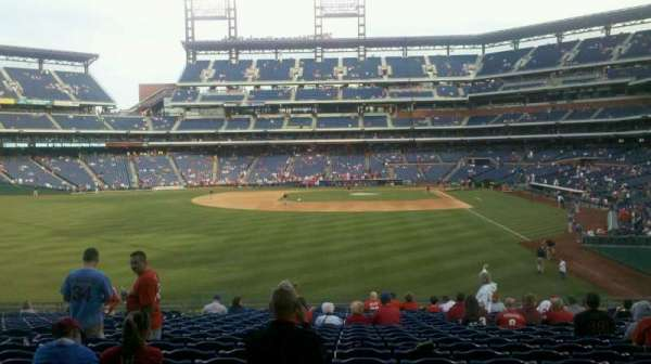Citizens Bank Park, section: 142, row: 23, seat: 12
