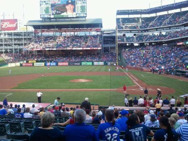 Globe Life Park in Arlington, section: 21, row: 22, seat: 6