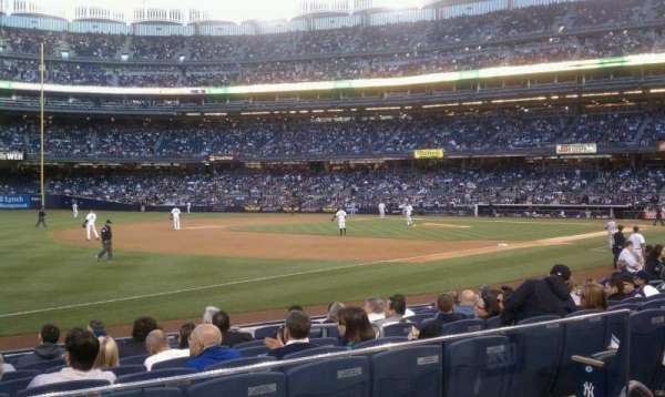 Yankee Stadium, section: 128, row: 12, seat: 8