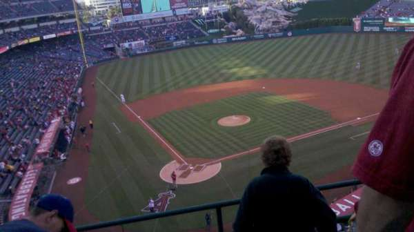 Angel Stadium, section: V421, row: d, seat: 10