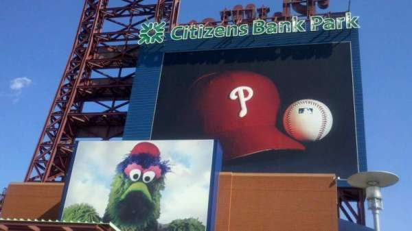 Citizens Bank Park, section: Left Field Gate