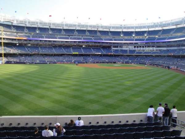 Yankee Stadium, section: 236, row: 1, seat: 10
