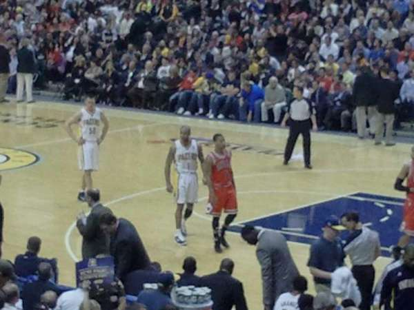 Bankers Life Fieldhouse, section: 3, row: 21, seat: 5