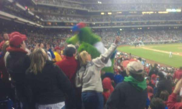 Citizens Bank Park, section: 111, row: 32, seat: 8