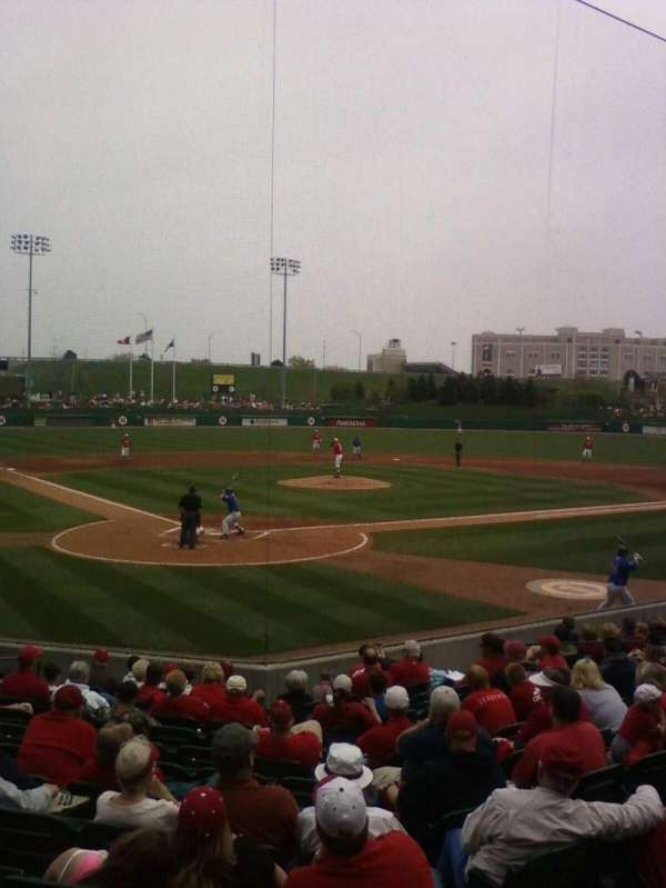 Haymarket Park, section: 302, row: 4, seat: 11