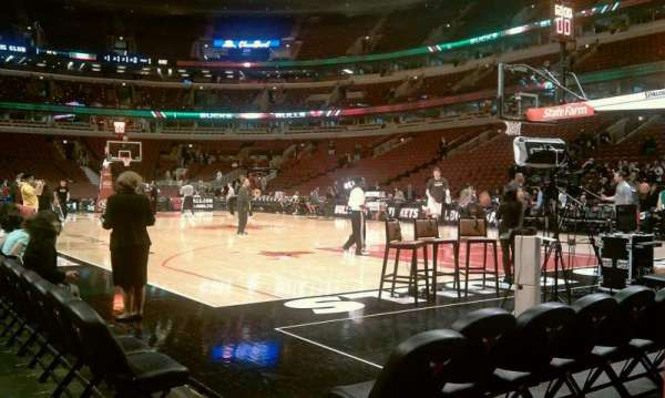 United Center, section: 100